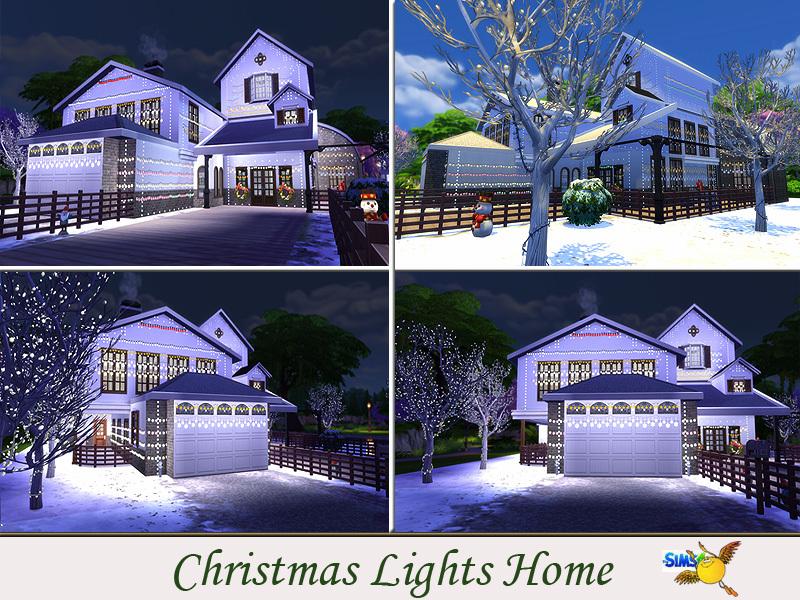 evi Christmas Lights Home