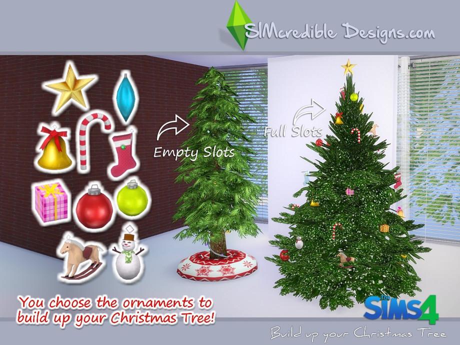 Simcredible S Build Up Your Christmas Tree