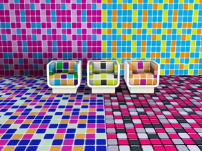 Sims 3 — Tiles 4 by Andreja157 — All patterns created with CAP Category: Tiles & Mosaic Recolorable