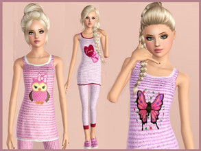 Sims 3 Updates - Downloads / Fashion / Clothing / Female / Teen ...