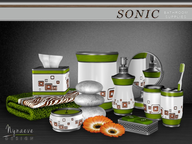 bathroom supplies. Sonic Bathroom Supplies NynaeveDesign S