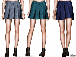 Sims 3 — Casual Flare Mini Skirt by zodapop — Casual flare mini skirt. ~ Custom mesh by me(Zodapop) ~ Custom launcher