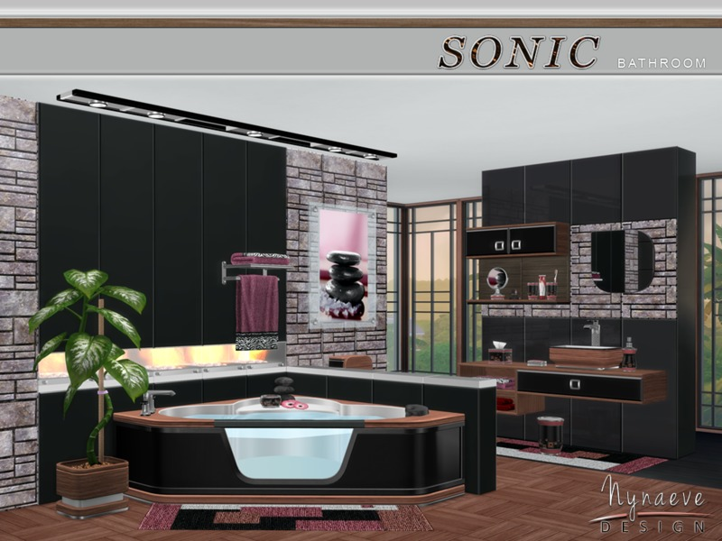 Nynaevedesign S Sonic Bathroom