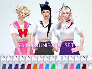 1294386c36 manueaPinny - Sailor uniform set