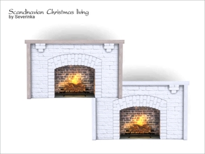 Severinka_'s Sims 4 Fireplaces