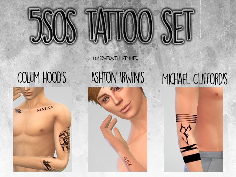 899487aea Sims 4 Male Tattoos - 'tumblr'