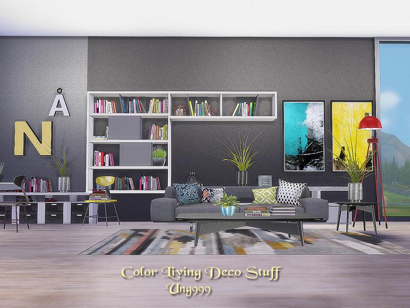 ung999\'s Color Living Decor Stuff