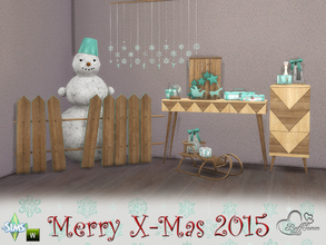 Sims 4 — XMas 2015 by BuffSumm by BuffSumm — May this holiday season sparkle and shine, may all of your wishes and dreams