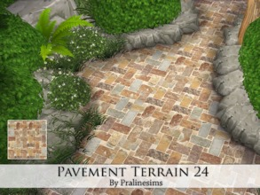 Sims 4 — Pavement Terrain 24 by Pralinesims — By Pralinesims