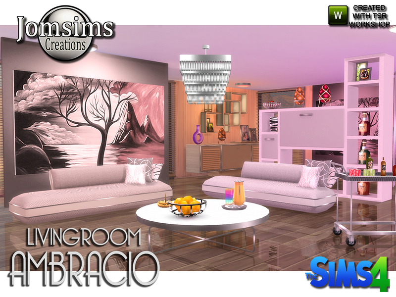 Jomsims ambracio living room living room sets tsr for Living room sets under 800