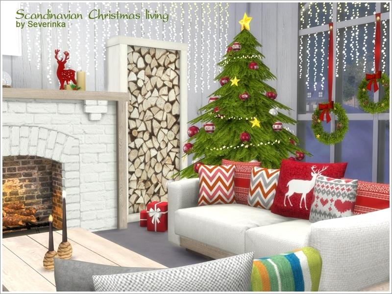 severinka 39 s scandinavian christmas living. Black Bedroom Furniture Sets. Home Design Ideas