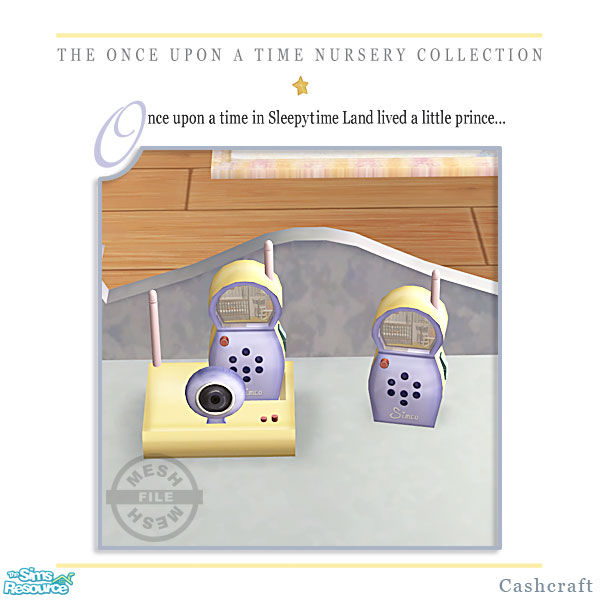 Cashcraft s once upon a time nursery baby monitor