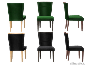 4 dining chairs farmhouse table shinokcrs sims dining chair recolors