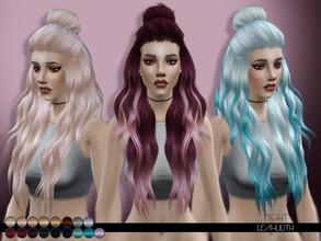 Sims 4 Hair Bun