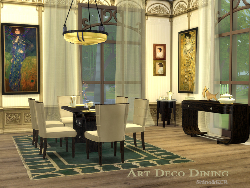 shinokcr's art deco dining