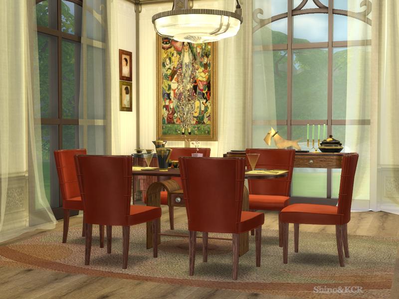shinokcr 39 s art deco dining. Black Bedroom Furniture Sets. Home Design Ideas