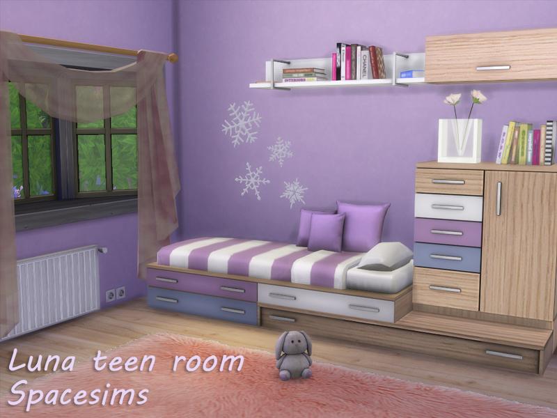 spacesims luna teen room - Free Teen Room
