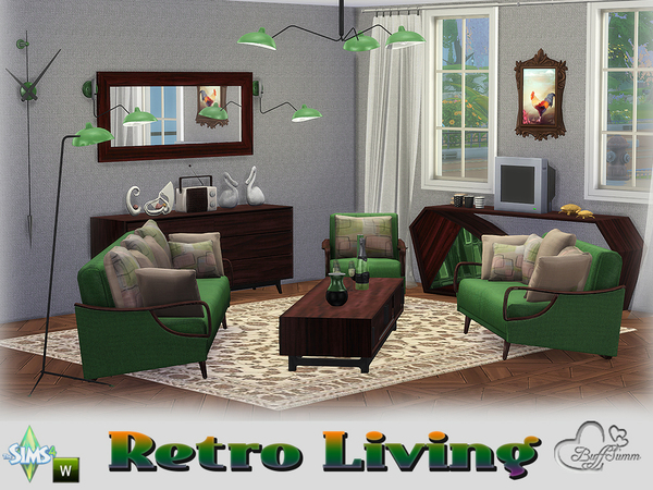 buffsumm 39 s retro livingroom. Black Bedroom Furniture Sets. Home Design Ideas