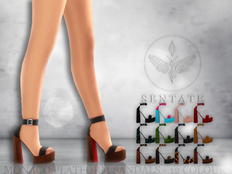 Sims  High Shoes