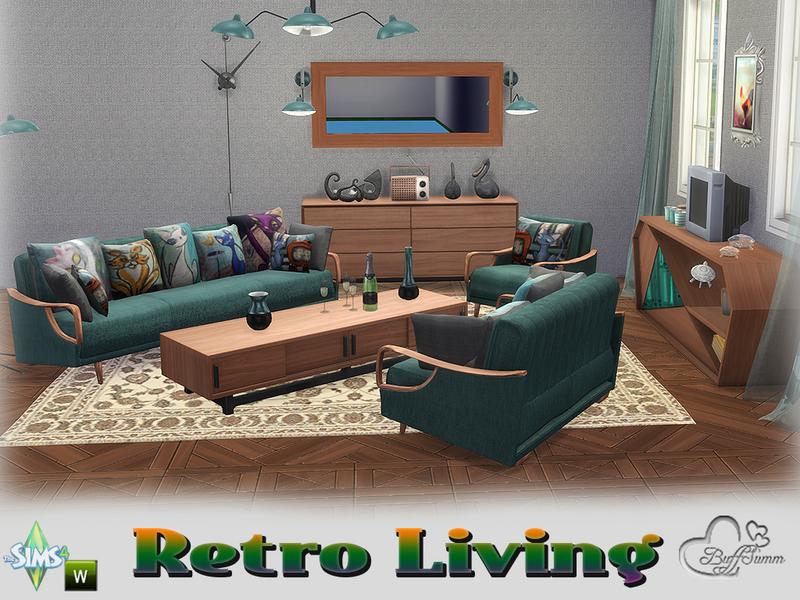 Buffsumm S Retro Livingroom