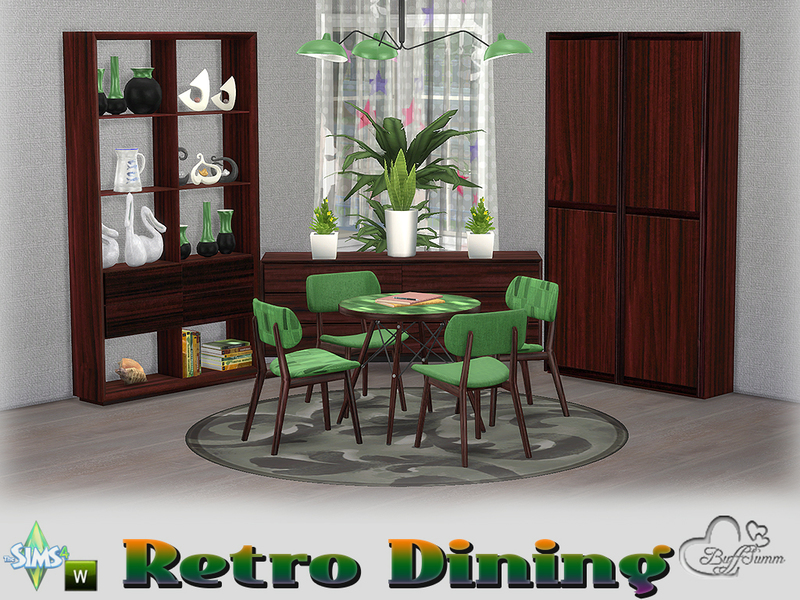 BuffSumm\'s Retro Diningroom