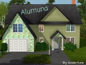 Sims 3 — Alumuna by goldenyune2 — There are 3 bedroom , one for a girl and boy room, 3 bathroom, Beautiful living room ,1