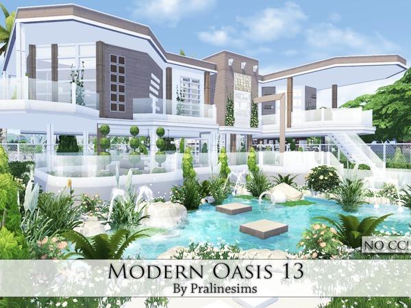 Pralinesims Modern Oasis 13