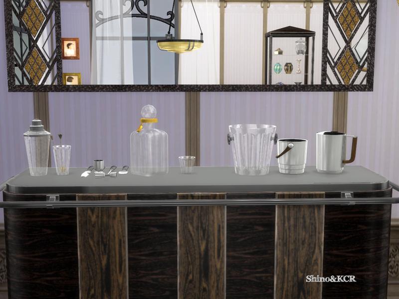 shinokcr 39 s art deco home bar. Black Bedroom Furniture Sets. Home Design Ideas