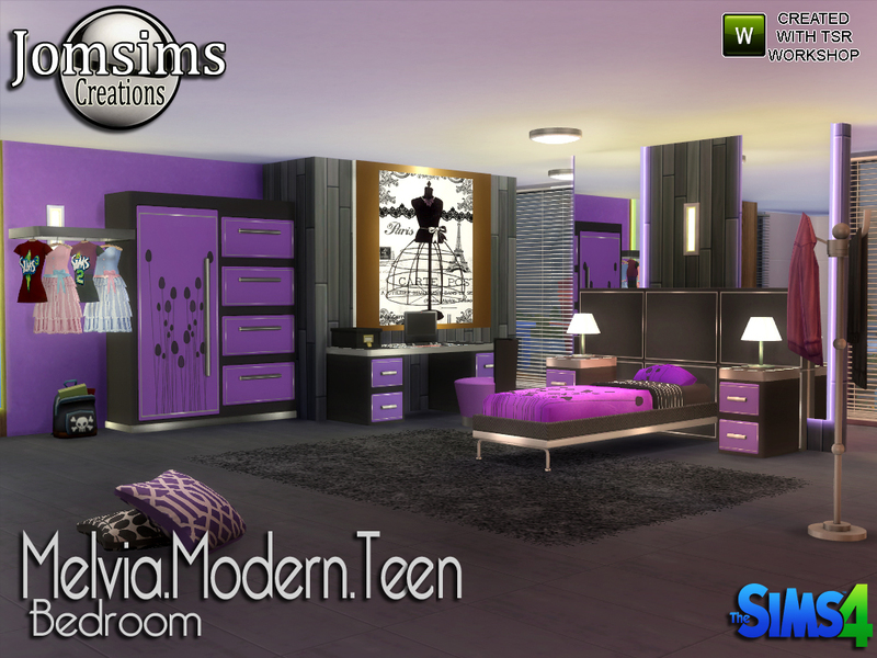 Teen Bedroom On Photo of Cool