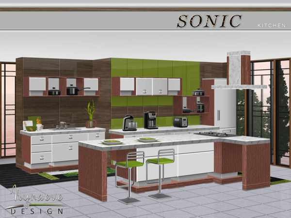 sims 3 kitchen ideas nynaevedesign s sonic kitchen 21712