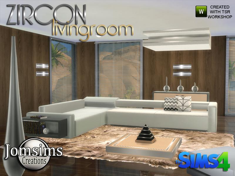 Jomsims Zircon Modern Living Room