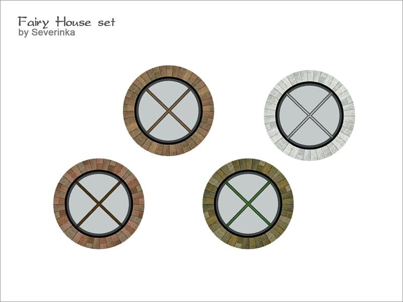 Small Round Windows: Severinka_'s [FairyHouse] Round Window Small