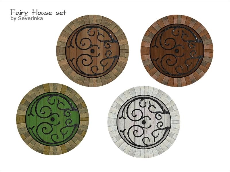 [FairyHouse] Round door & Severinka_u0027s [FairyHouse] Round door