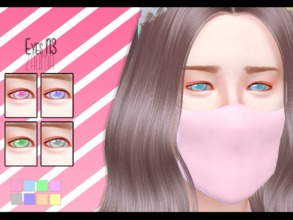 Sims 4 — Yume - Eyes N3 by Zauma — Hello! Some new dolly eyes avaliables in 8 colors, females & male (but