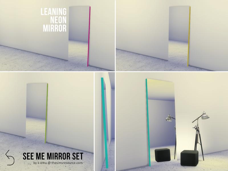 K Omu S See Me Mirror Set