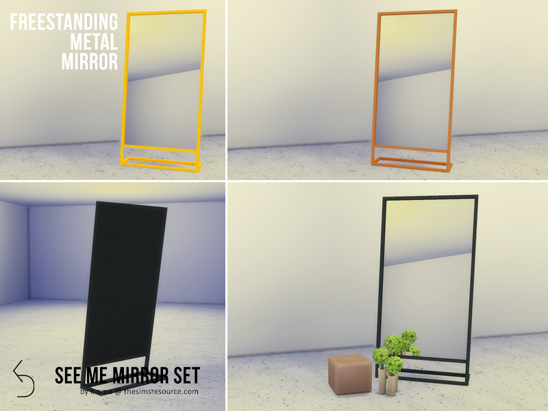 mirrors walls
