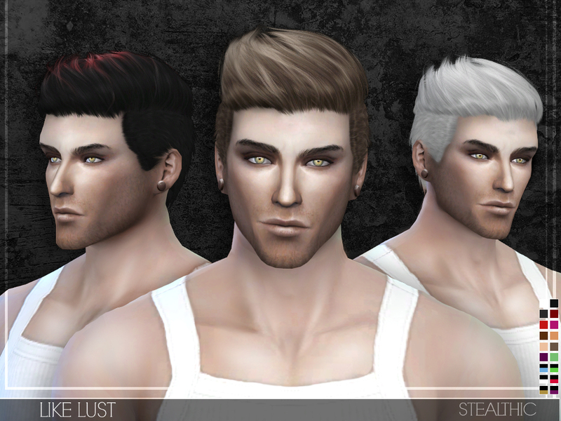 Stealthic Like Lust Male Hair