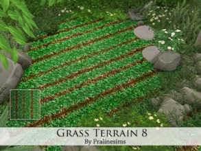 Sims 4 — Grass Terrain 8 by Pralinesims — By Pralinesims