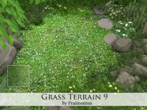 Sims 4 — Grass Terrain 9 by Pralinesims — By Pralinesims