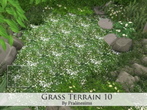 Sims 4 — Grass Terrain 10 by Pralinesims — By Pralinesims