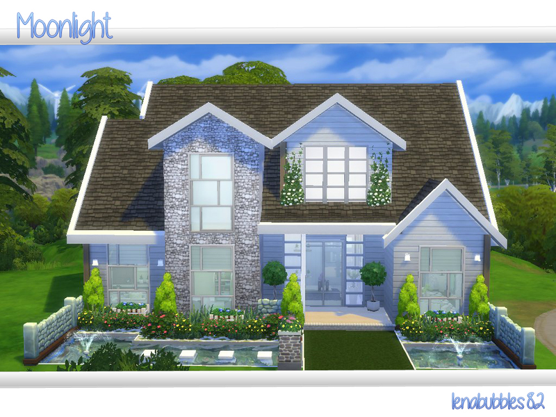 Lenabubbles82 39 s moonlight for Small house design sims 4