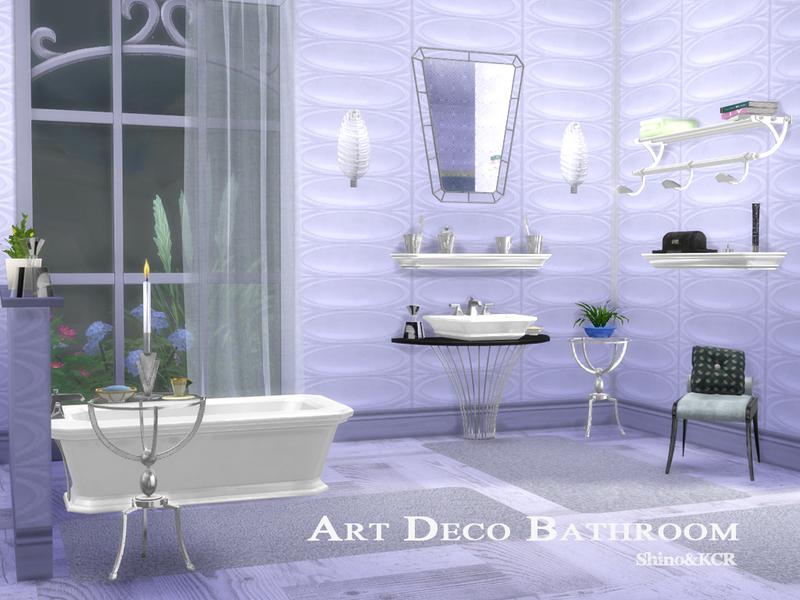Shinokcr S Art Deco Bathroom