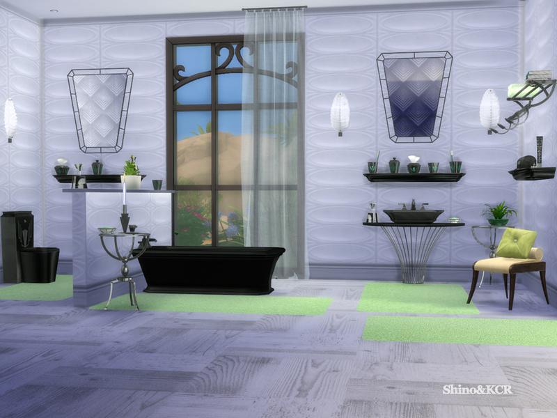 Shinokcr 39 s art deco bathroom for Toilet deco