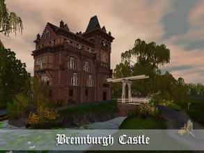 Sims 3 — Brennburgh Castle by fredbrenny — Castles are fun stuff. Big or small,they always have some history attached to