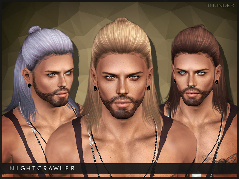 Subscriber Only Male Sims 3 Hairstyles Bun