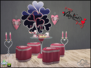 Sims 4 — Valentine Love by BuffSumm — May this Valentine bless you with the cupid of love and warmth of romance. Happy