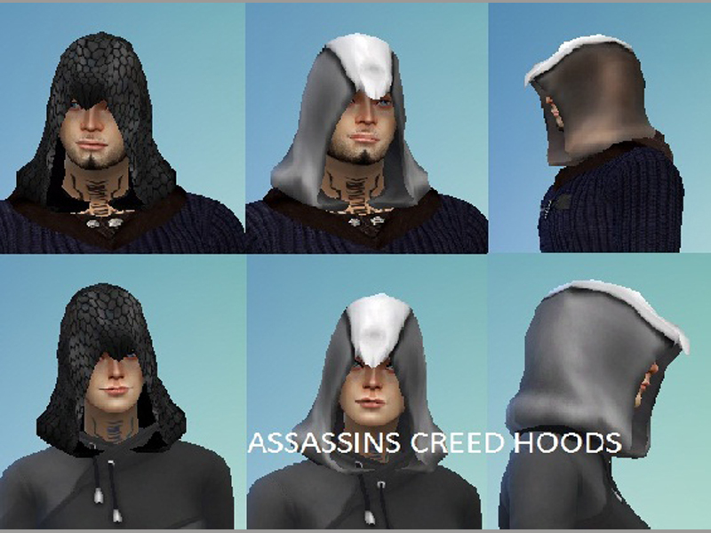 navigee21's Assassin Hood The Sims Resource