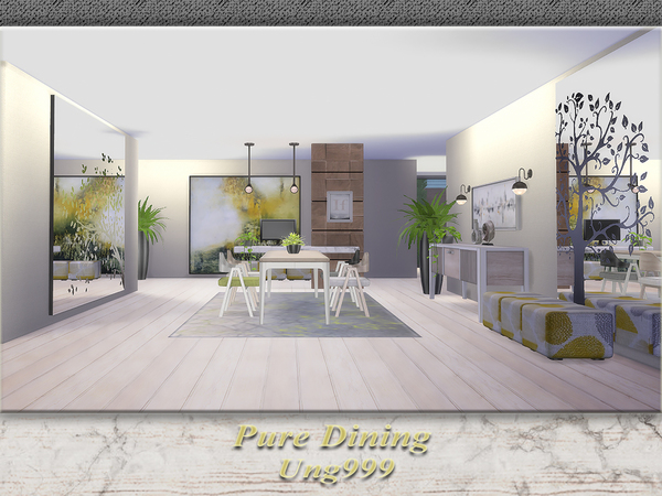 Ung999 S Black White Living: Ung999's Pure Dining