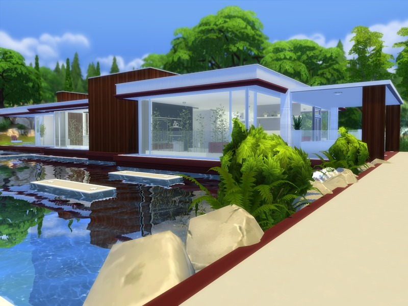 Suzz86\'s Modern Pool House