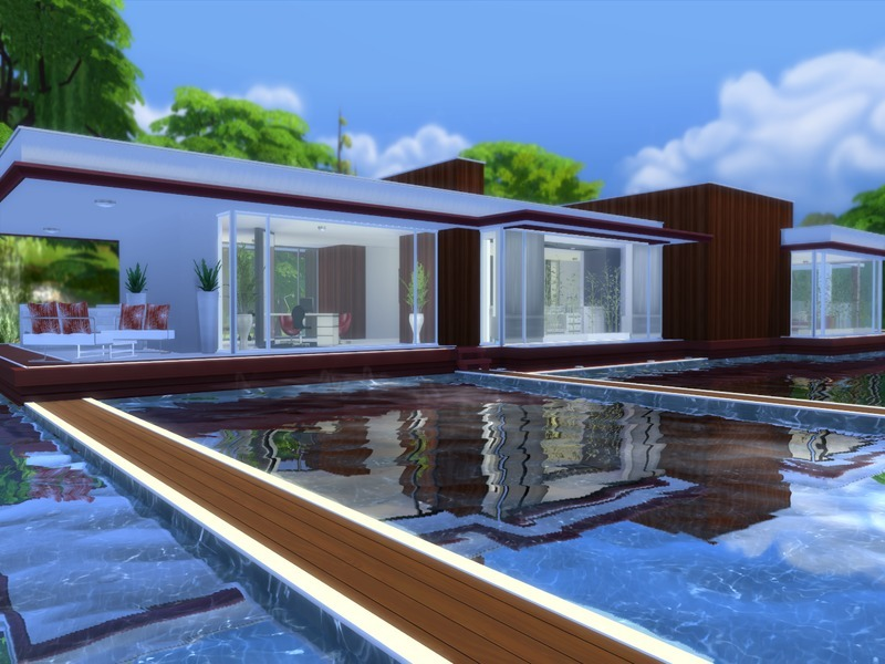 Suzz86s Modern Pool House
